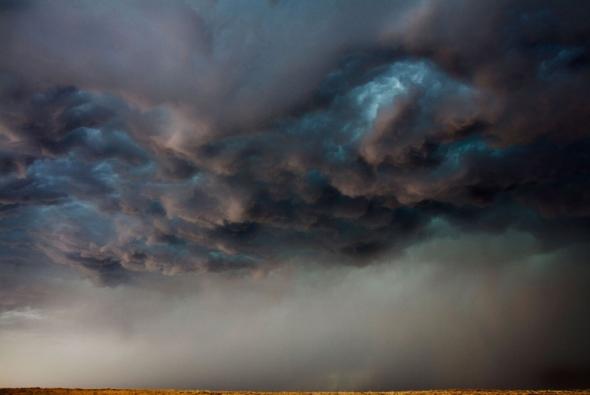 фото небо перед ураганом