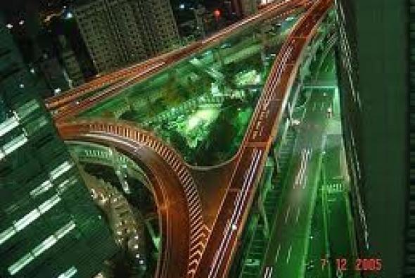 дороги ночного Токио