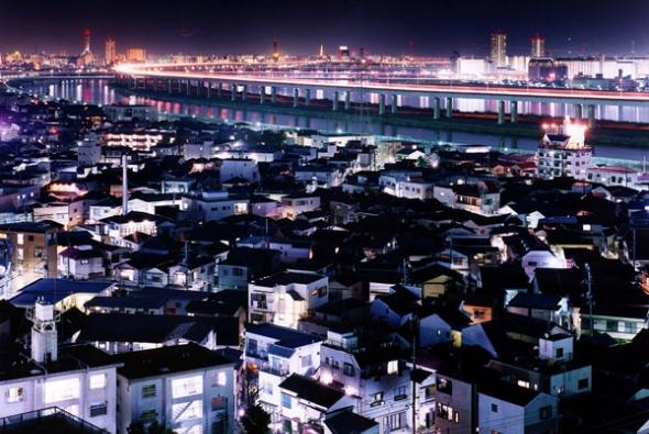 город Токио ночью