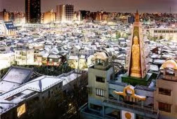 освещение Токио