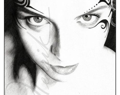 Рисунки карандашом Henrik Moses