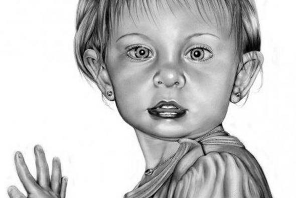 рисунок карандашом девочка