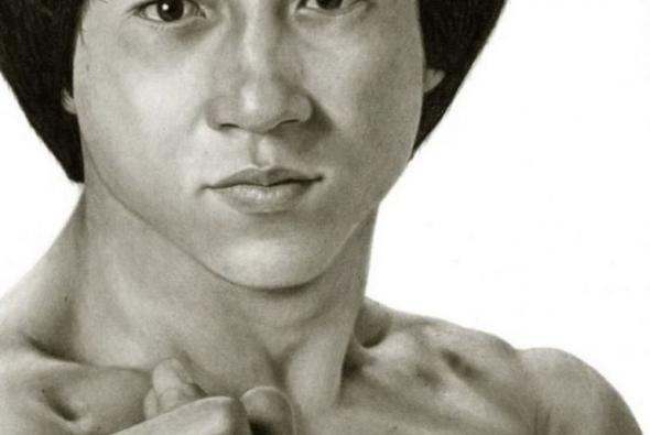 рисунок карандашом актер