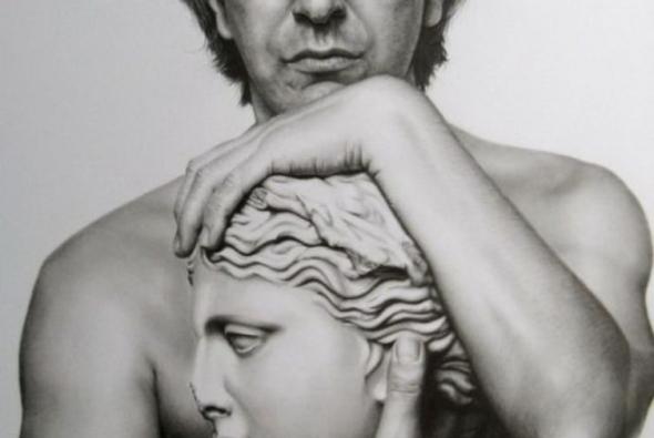 рисунок карандашом скульптура