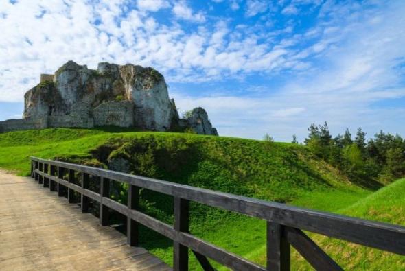 Руины-замка-Рабштын