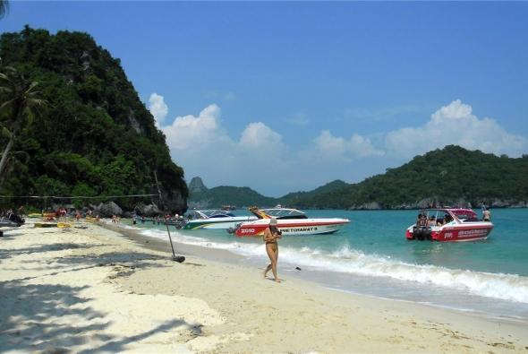 самый красивый пляж