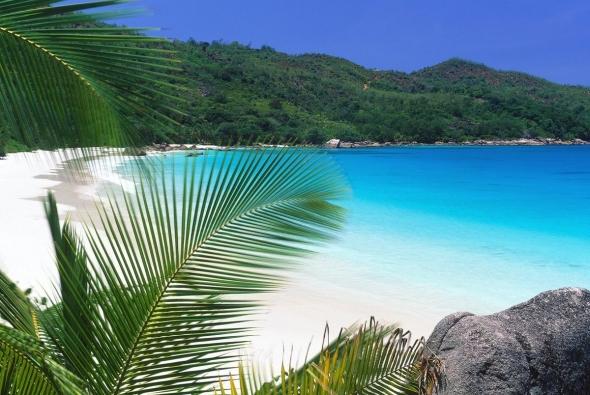 необитаемый пляж