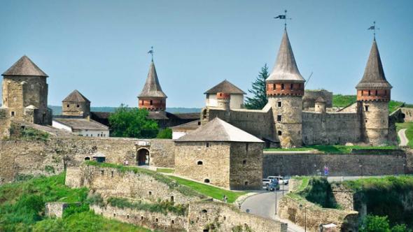 Каменец-подольская-крепость