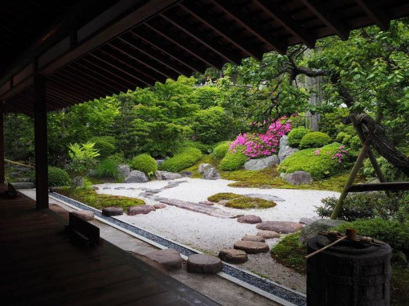 Прекрасные японские сады (15 фото)