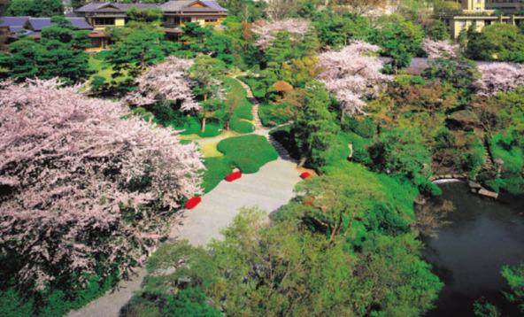 Японский сад Хаппо-ан
