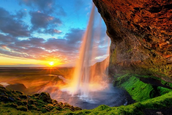 Сельяландсфосс, Исландия