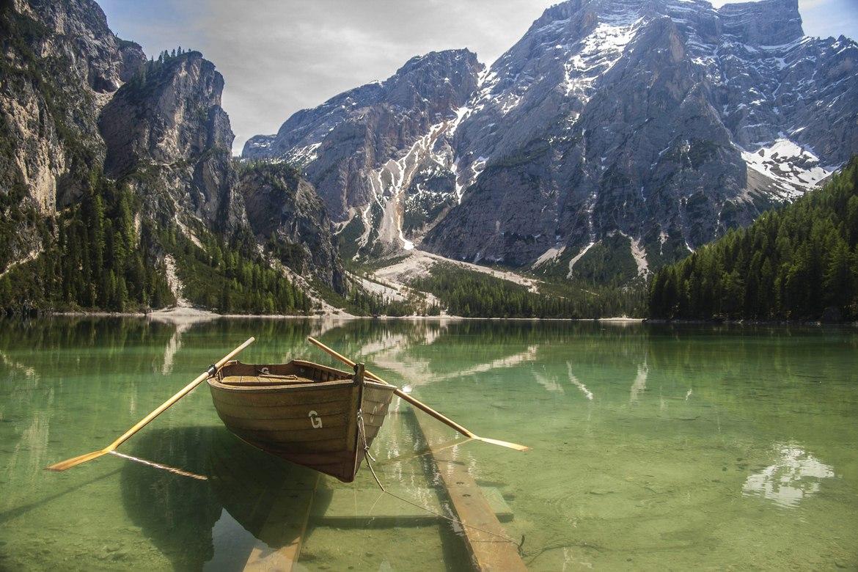Горное озеро Брайес (10 фото)