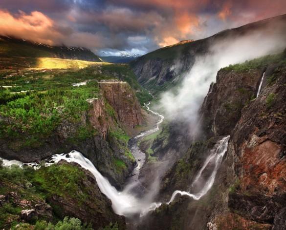 Ворингфоссен, Норвегия