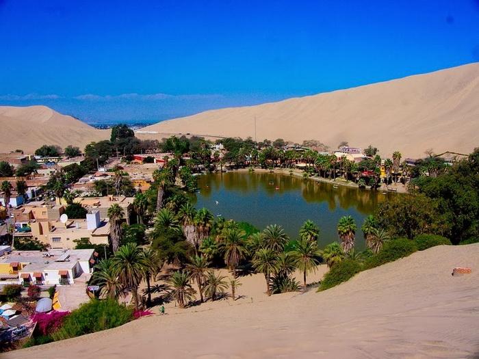 Уакачина — живописный оазис в Перу (12 фото)