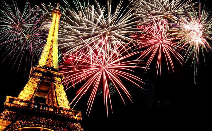 Новогодний Париж (26 фото)