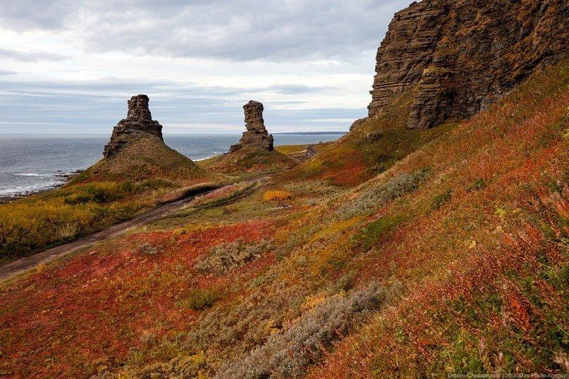 Берег рыжих камней (9 фото)