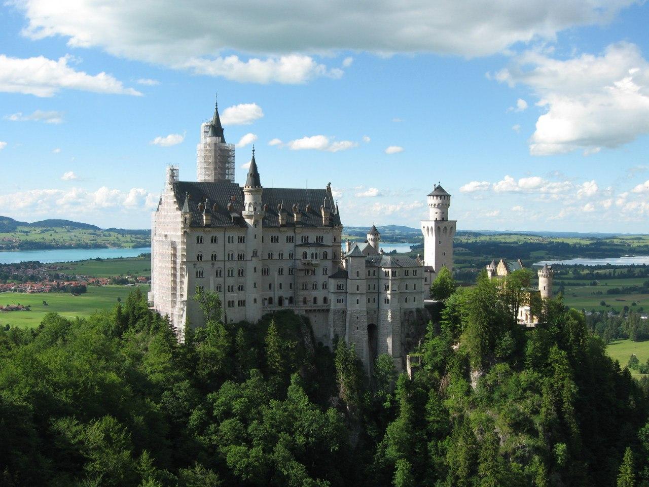 Замок Нойшванштайн (10 фото)