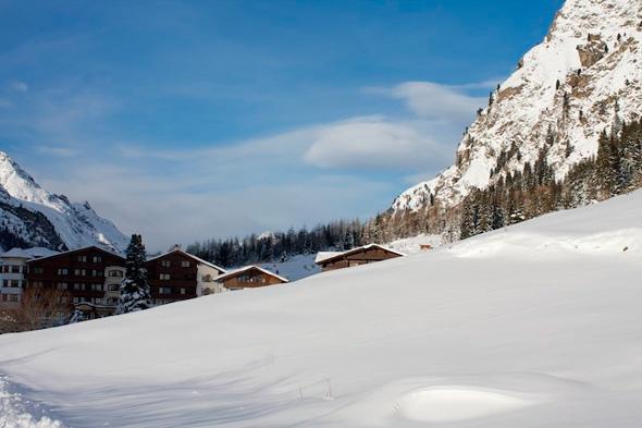 Фото горнолыжных курортов Австрии (14 фото)