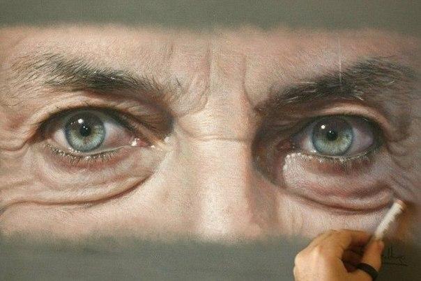 Реалистичные рисунки пастелью Рубена Беллосо Адорна (16 фото)